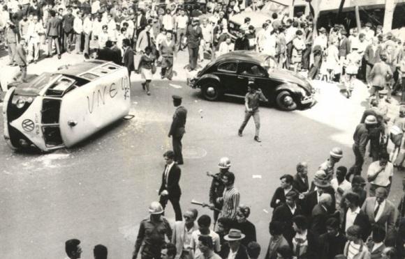 Reportagem de 1968: Segurança contra a anistia