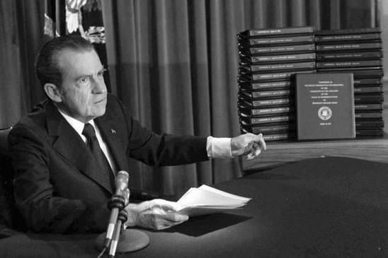 Matéria de 1974: Watergate: A derrota de Nixon na Suprema Corte