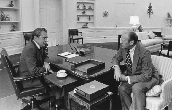 Matéria de 1974: EUA: Os preparativos do vice Gerald Ford
