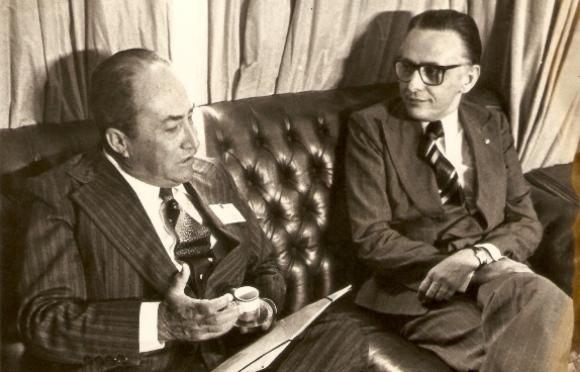 Matéria de 1975: Um presidente cheio de fé