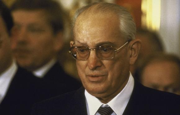 Matéria de 1983: URSS: O presidente Andropov