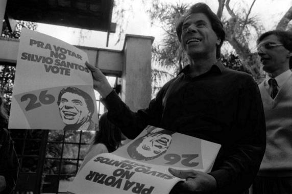 Matéria de 1989: Torpedo Silvio Santos atinge Collor em cheio