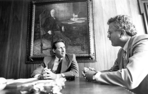 Entrevista de 1991: Quércia diz que Collor está isolado