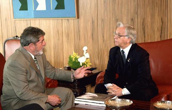 Artigo de 2003: Itamar em Roma vai dar dor de cabeça a Lula