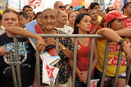 Eleitorado de Dilma: forças nas classes D e E