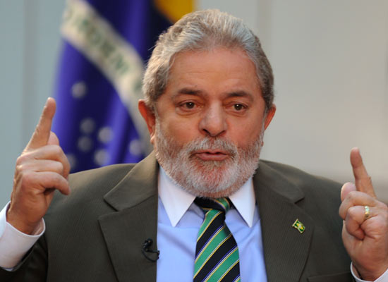 Lula gravata listrada agência brasil
