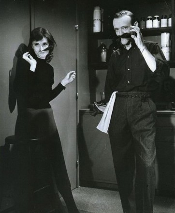 Audrey Hepburn e Fred Astaire