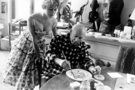 Brigitte Bardot e Pablo Picasso