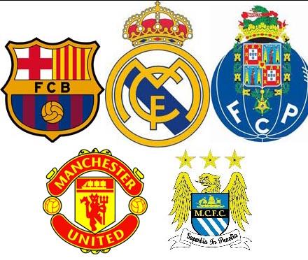 72875db338 Na classificação dos 400 melhores times de futebol do mundo
