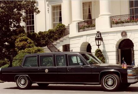 Cadillac 1983, que serviu a Ronald Reagan