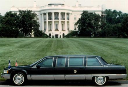 Cadillac 1993, usado por Bill Clinton
