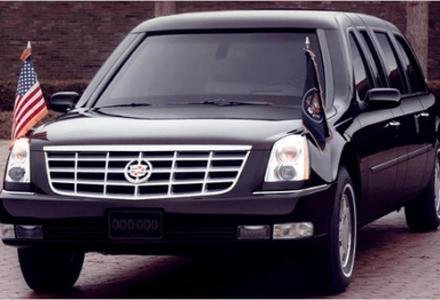 Cadillac DTS 2001, usado por Bush