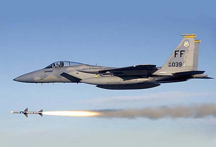 F-15-Eagle-Missil