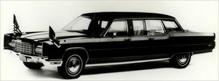 Lincoln 1972 que serviu aos presidentes Richard Nixon, Gerald Ford, Jimmy Carter e Ronald Reagan