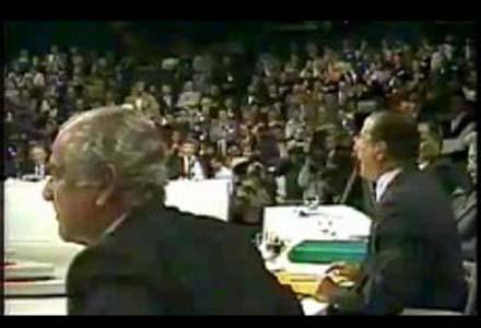 Bate-boca entre Maluf e Brizola, em debate para presidência em 1989