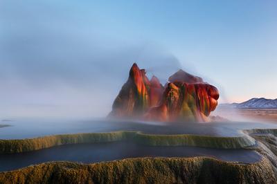 Fly Geyser, Nevada - Jared Ropelato