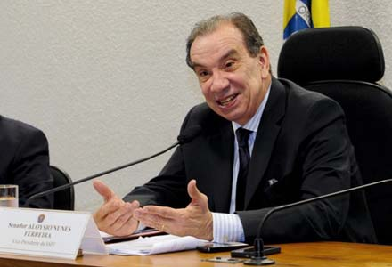 Aloysio Nunes (Foto: Márcia Kalume / Ag. Senado)