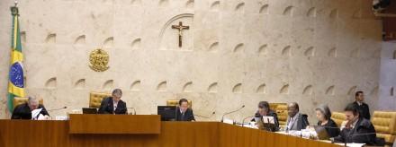 Ministros do Supremo: se aparecerem provas contra Lula fora do processo, ele só poderia ser julgado como co-participante (Foto: Gervásio Baptsita / STF)
