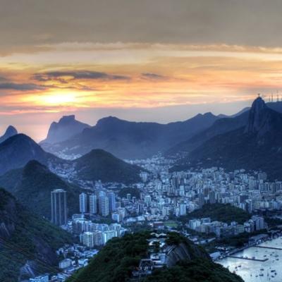 Vista do Pão de Açícar, no Rio de Janeiro (Foto: herodoto)