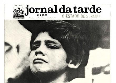 Detalhe da capa de 07 de junho de 1982, quando o Brasil saiu da Copa: edições históricas (Foto: Reprodução)