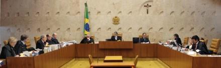 Ministros do STF mostraram que merecem a credibilidade dos nossos leitores (Foto: Foto: Carlos Humberto / STF)