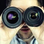 Ops, esse é o fotógrafo, escondendo seus olhos
