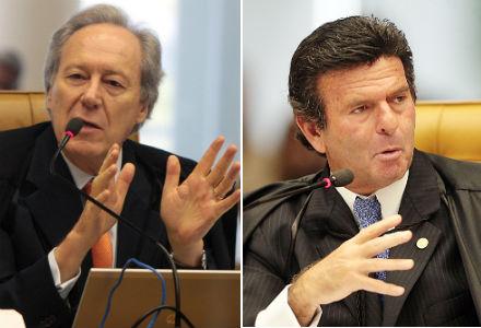 Ministros do STF Ricardo Levandowski e Luiz Fux (Foto: Carlos Humberto / STF)