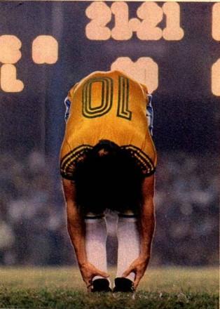 """Zico, o novo camisa 10: """"Com Pelé, não há comparação"""" (Foto: M.M. Passos)"""