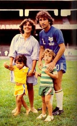 Hoje, com sandra, Júnior e Bruno (Foto: Ricardo Chaves)