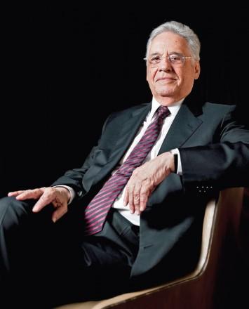 POLÍTICA COM P MAIÚSCULO -- Fernando Henrique Cardoso: combinação de análise teórica e reminiscências pessoais (Foto: Gilberto Tadday)