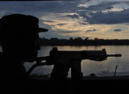 Papel importante na selva brasileira (Foto: Arquivo do Exército)