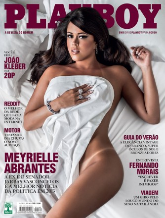 Capa da Playboy de novembro