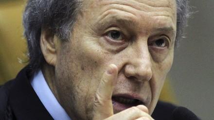 Ministro Lewandowski: para ele, João Paulo Cunha embolsou dinheiro do mensalão, mas não sabia de sua origem ilícita (Foto: Supremo Tribunal Federal)