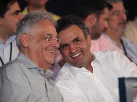 ELEIÇÕES 2014: FHC aconselha o mineiro Aécio a ter um candidato a vice que seja de São Paulo
