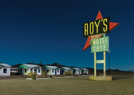 Roy's abandoned motel in Amboy, California. Perhaps the most iconic and iso