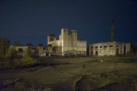 Former Continental Plant, Algonquin at East Jefferson, Detroit, 2013