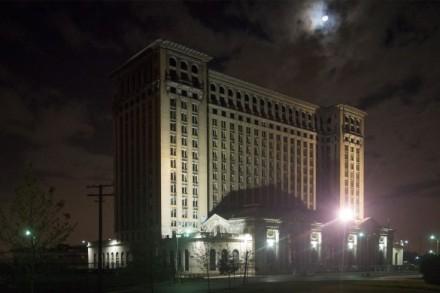 Former Michigan Central Rail Road Station, Detroit, 2013