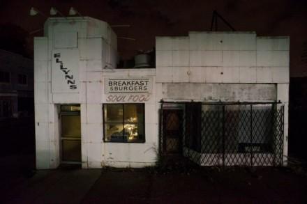 Looking inside, Livernois Ave. at Ellsworth, Detroit, 2013