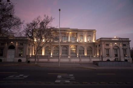 A embaixada do Brasil em Santiago (Foto: turistik.cl)