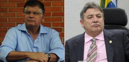 O agora ex-senador Clésio Andrade (PMDB-MG) e o senador Zezé Parrela (PDT-MG) (Fotos: Tulio Santos/EM/D.A. Press :: Lia de Paula/Agência Senado)