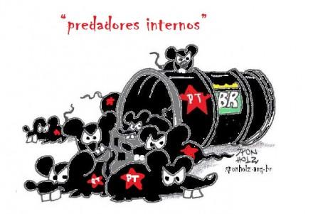 a charge predadores
