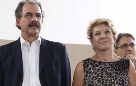 """Com Aloizio Mercadante, em outros tempos: agora, ele é declarado """"inimigo"""" (Foto: ruifalcao.com.br)"""