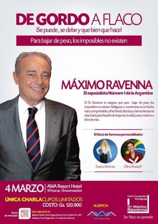 O cartaz do evento