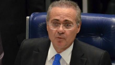 Senador Renan Calheiros (PMDB-AL), de novo presidente do Senado e do Congresso Nacional (Foto: Agência Brasil)