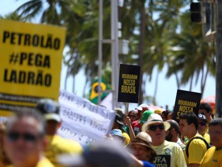 RECIFE: A indignação foi às ruas (Foto: Peu Ricardo/Folhapress)