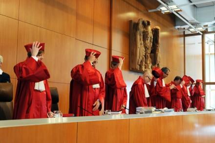 Solenidade no Tribunal Constitucional da Alemanha:  (Foto: finanzen100.de)